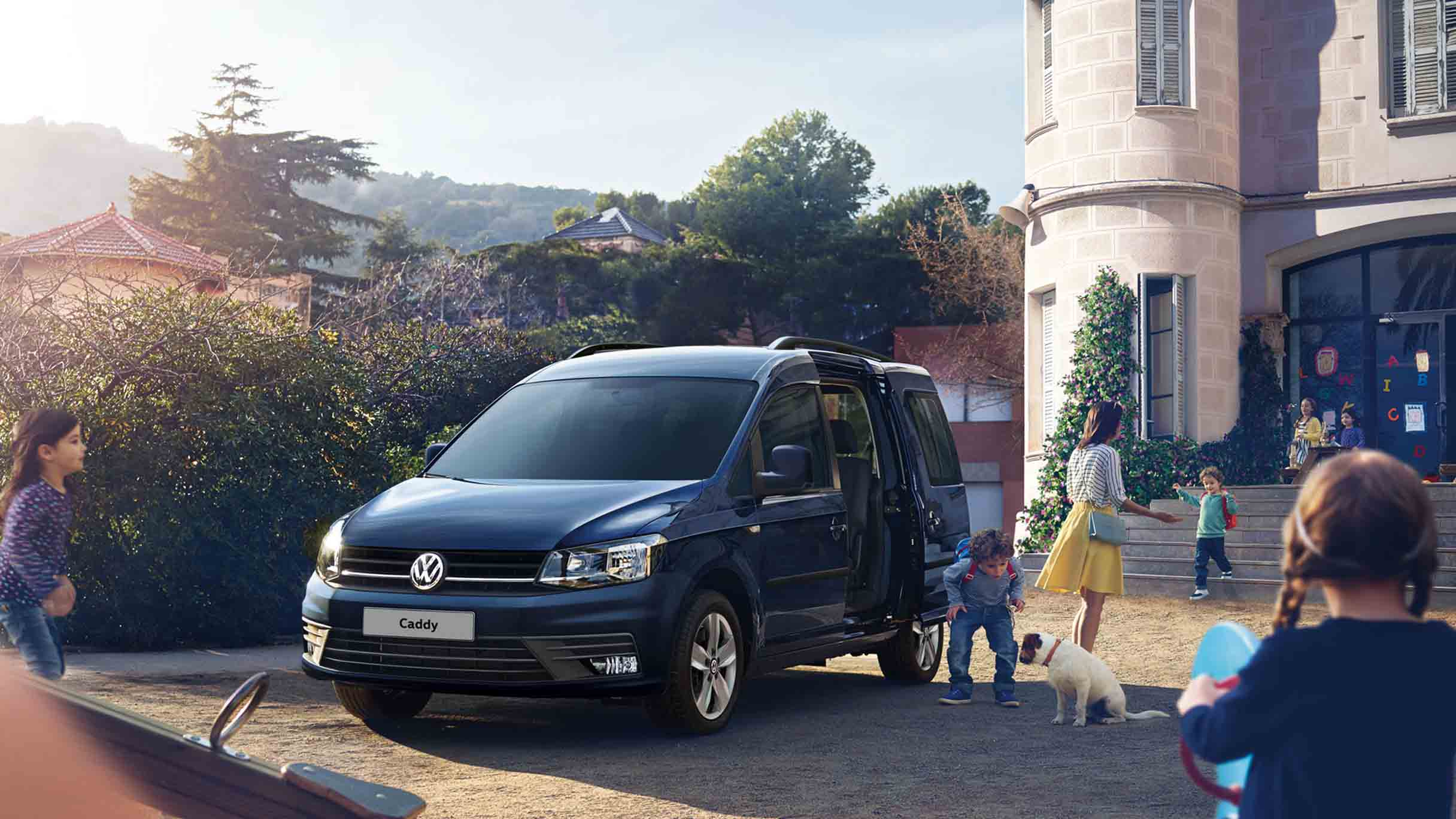 VW Caddy Trendline and Alltrack header banner