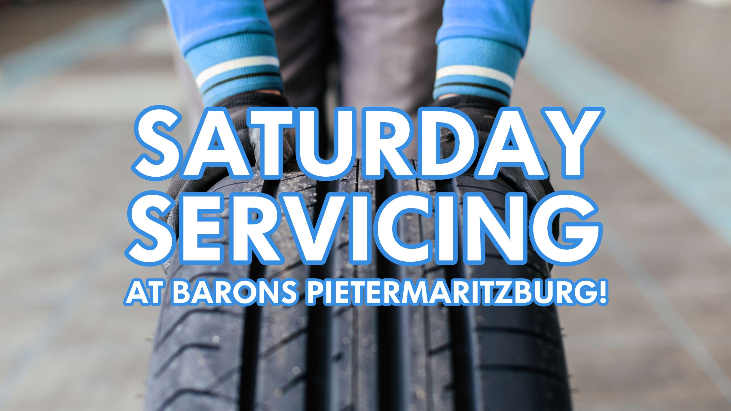 Book a Saterday service at Barons PMB