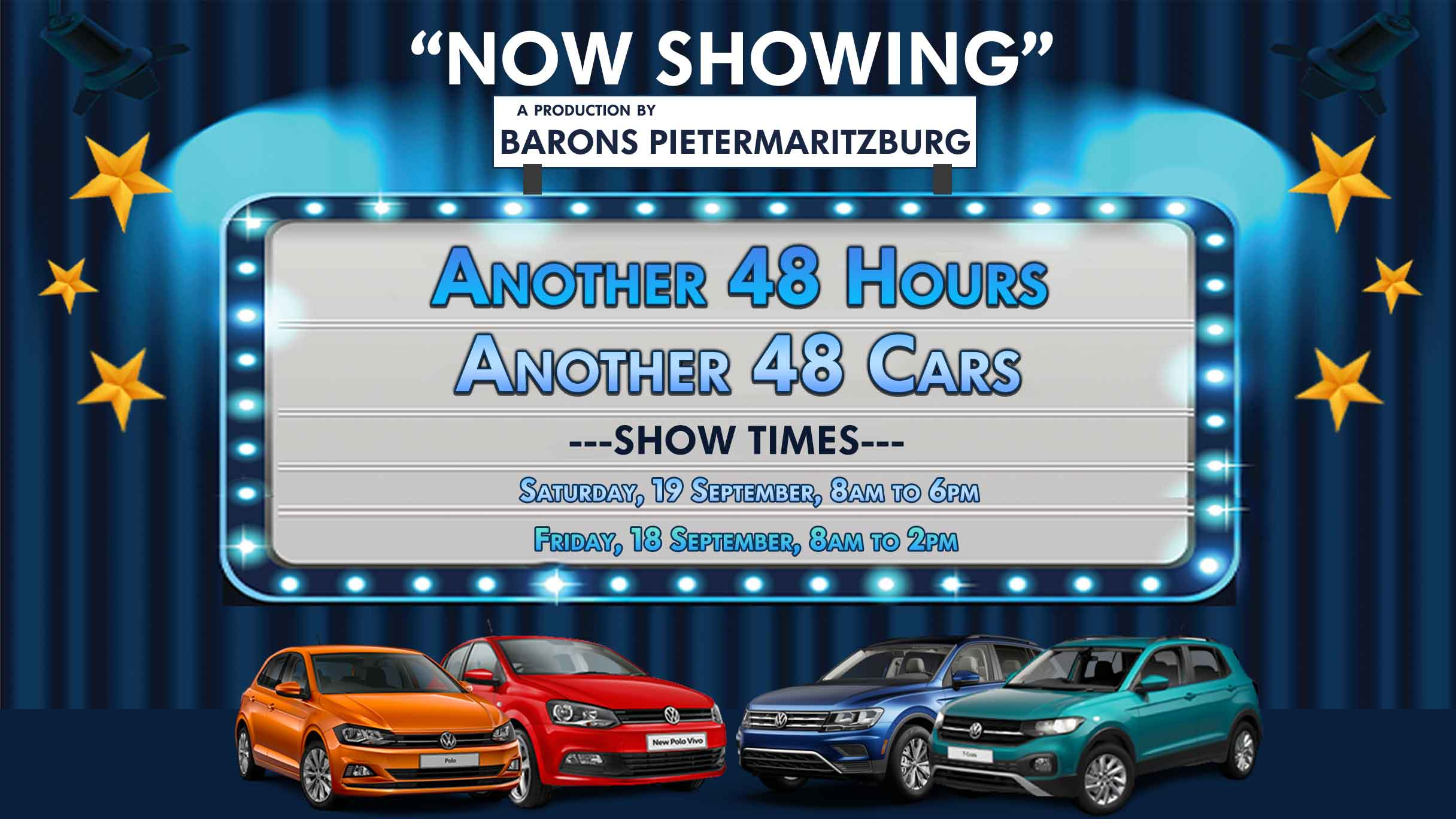 Barons PMB 48 cars, 48 hours